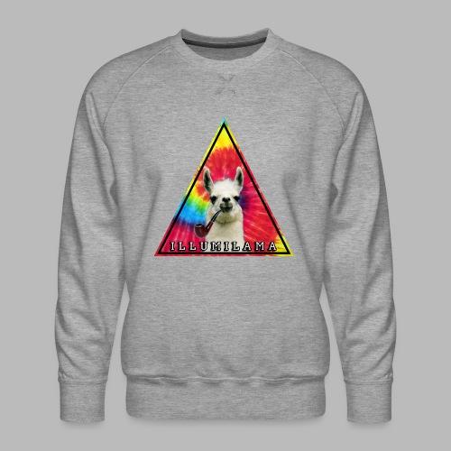 Illumilama logo T-shirt - Men's Premium Sweatshirt