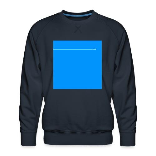 sklyline blue version - Sweat ras-du-cou Premium Homme