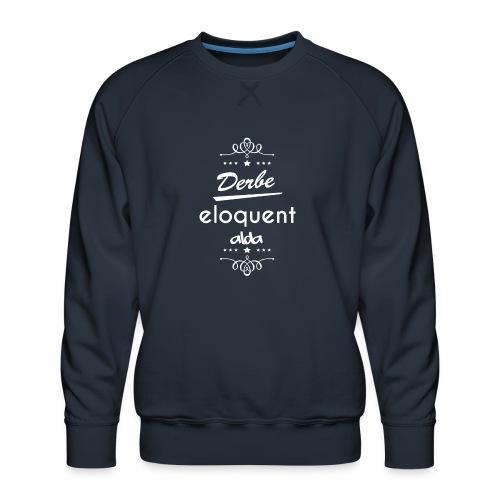 Derbe Eloquent Alda Weiß - Men's Premium Sweatshirt