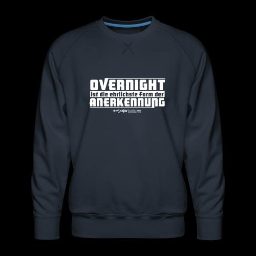Overnight - Männer Premium Pullover