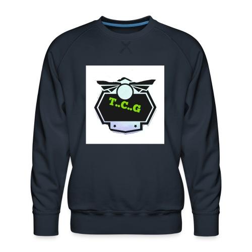 Cool gamer logo - Men's Premium Sweatshirt