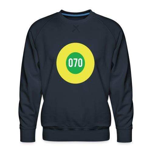 070 logo - Mannen premium sweater