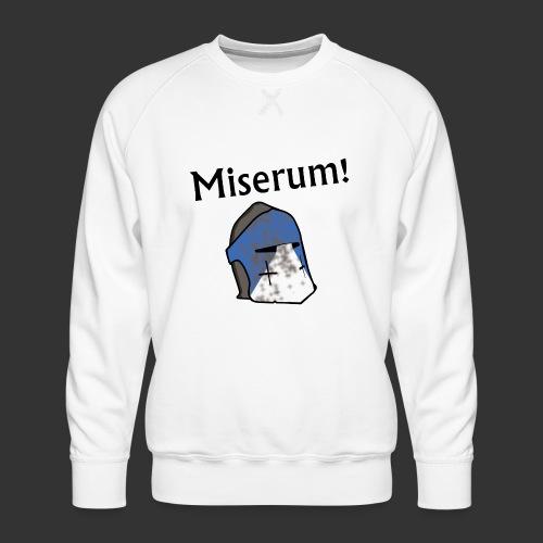 Warden Cytat Miserum! - Bluza męska Premium