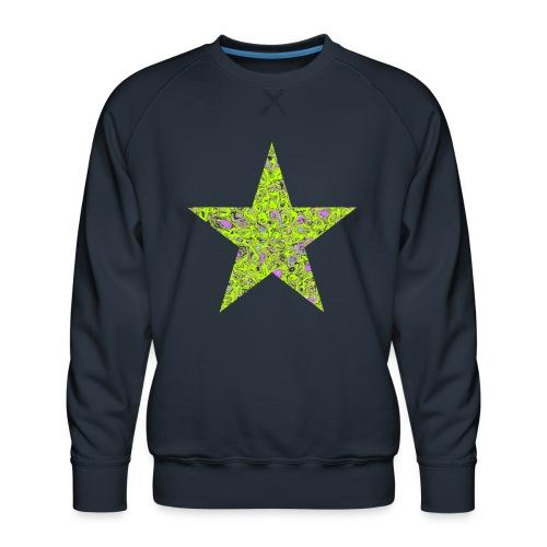 Stern psychedelisch - Männer Premium Pullover