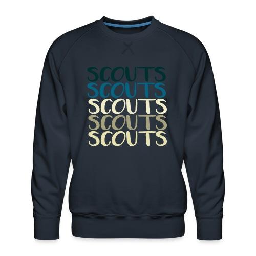 SCOUTS Typo Strandmix - Männer Premium Pullover