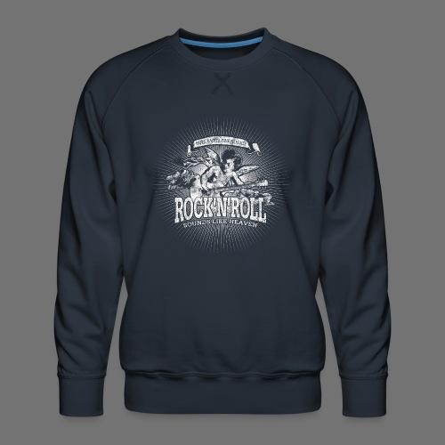 Rock 'n' Roll - Sounds Like Heaven (hvid) - Herre premium sweatshirt