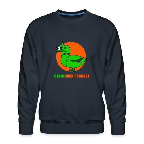 Greenduck Podcast Logo - Herre premium sweatshirt