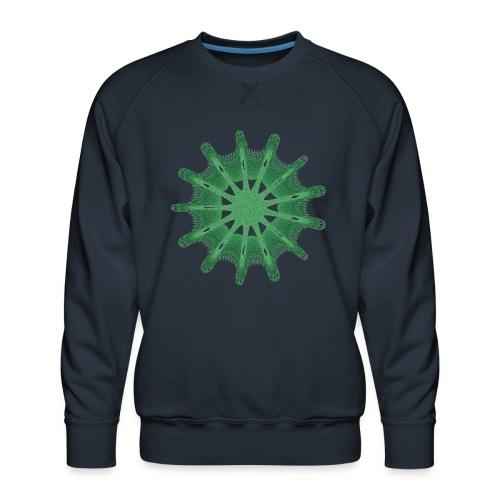 grünes Steuerrad Grüner Seestern 9376alg - Männer Premium Pullover