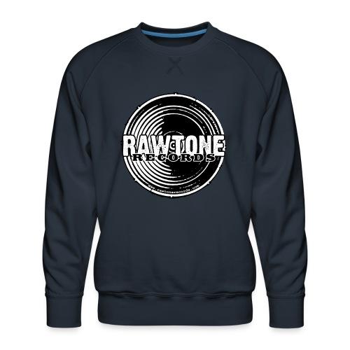Rawtone Records - full logo - Men's Premium Sweatshirt