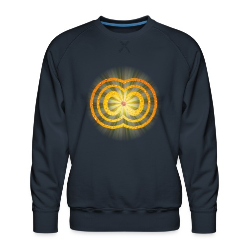 leuchtende / strahlende unendliche Liebe - Spirit - Männer Premium Pullover
