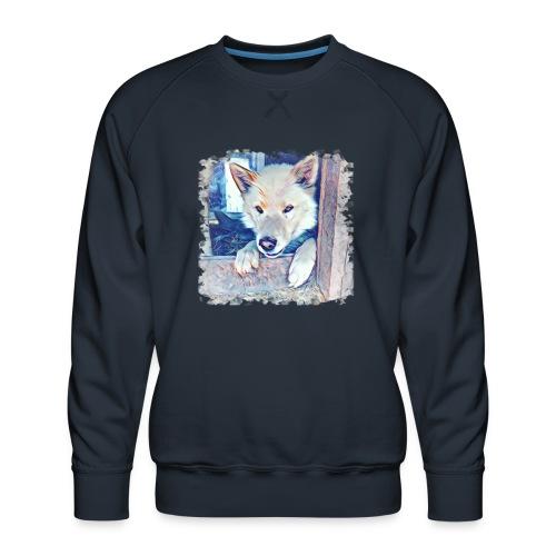 Schattenplatz - Männer Premium Pullover