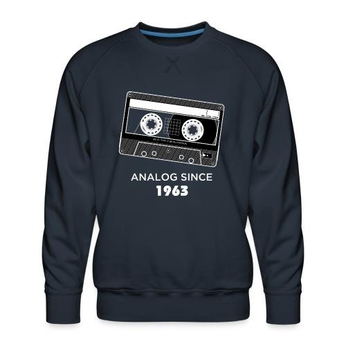 Analog since 1963 - Men's Premium Sweatshirt