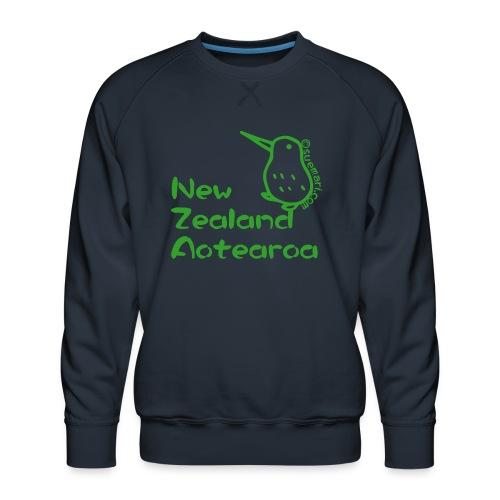 New Zealand Aotearoa - Men's Premium Sweatshirt