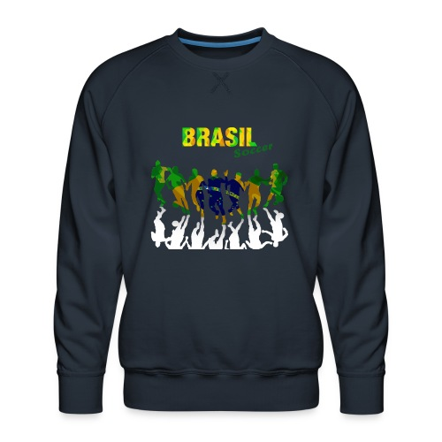 Brasil Soccer - Men's Premium Sweatshirt