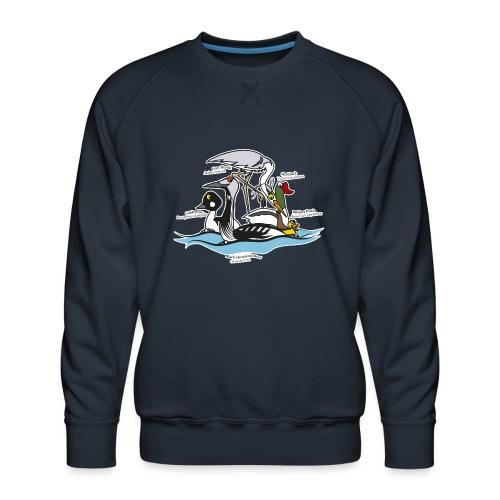 Birds of a Feather - Men's Premium Sweatshirt