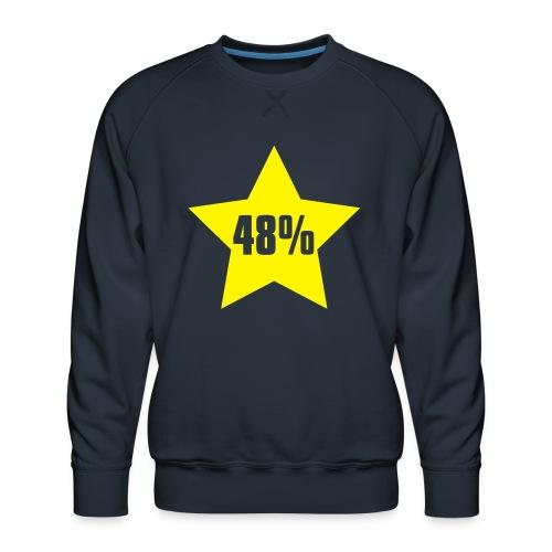 48% in Star - Men's Premium Sweatshirt