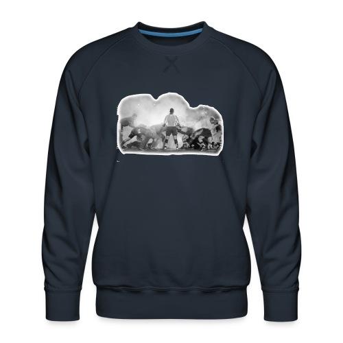 Rugby Scrum - Men's Premium Sweatshirt