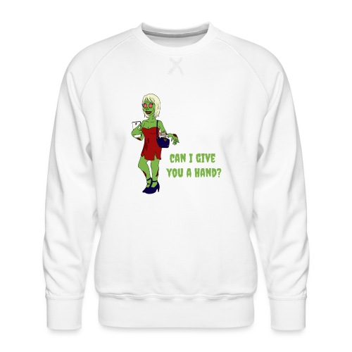 give a hand - Men's Premium Sweatshirt