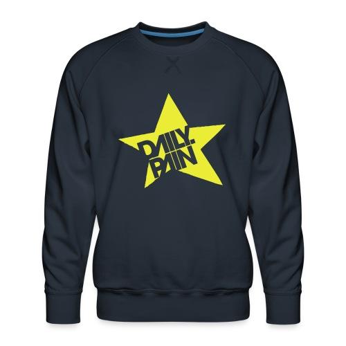 daily pain star - Bluza męska Premium