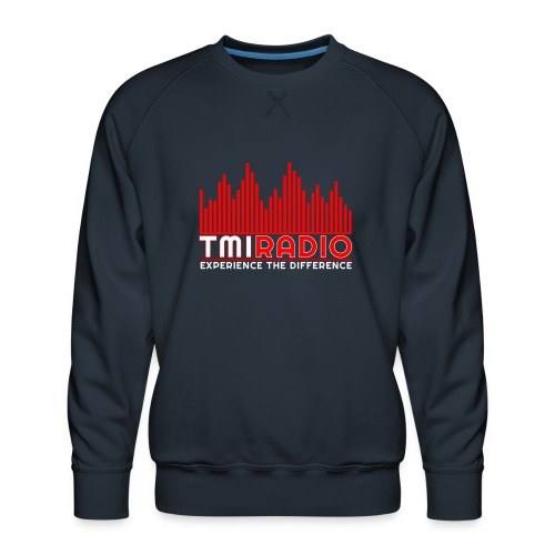 NEW TMI LOGO RED AND WHITE 2000 - Men's Premium Sweatshirt