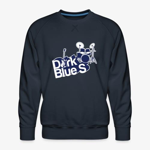 DarkBlueS outline gif - Men's Premium Sweatshirt