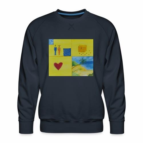 Viererwunsch - Männer Premium Pullover
