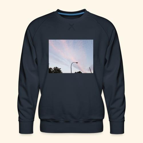 Abendhimmel - Männer Premium Pullover