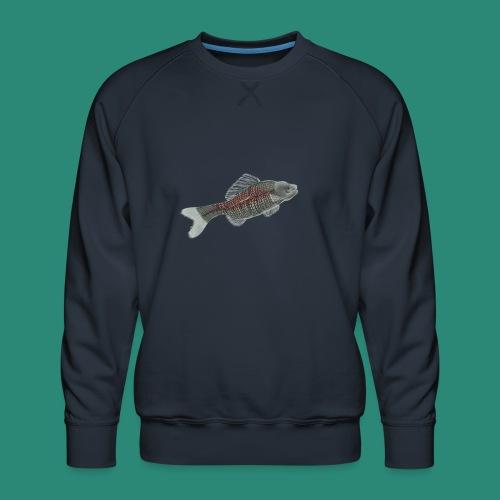 Der Fisch ist bunt - Männer Premium Pullover