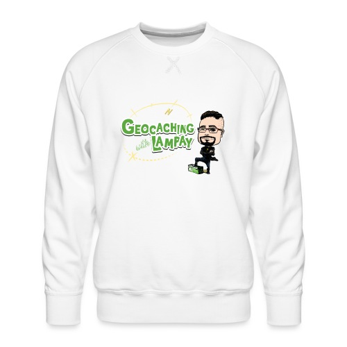 Geocaching With Lampay - Sweat ras-du-cou Premium Homme