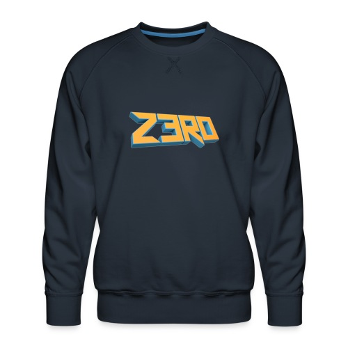 The Z3R0 Shirt - Men's Premium Sweatshirt