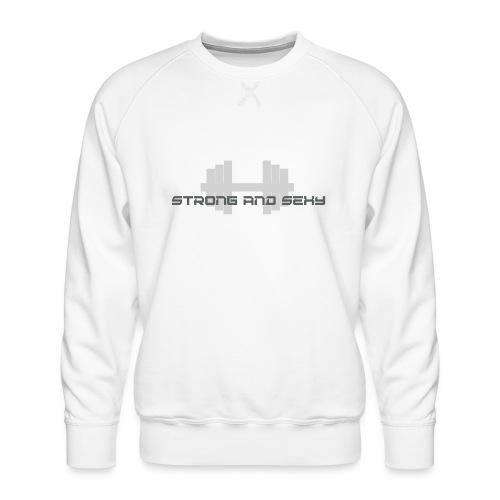 sasdumbell3 png - Mannen premium sweater