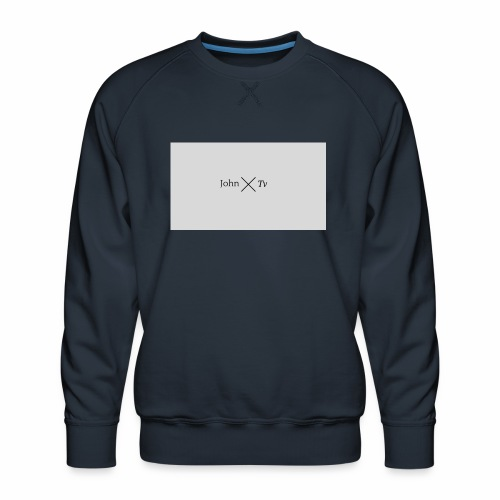 john tv - Men's Premium Sweatshirt