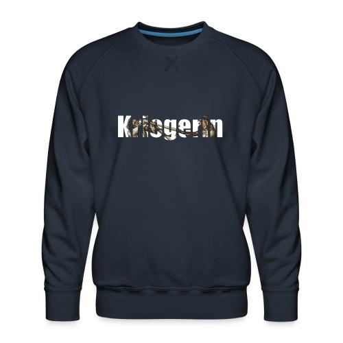 kriegerin - Männer Premium Pullover