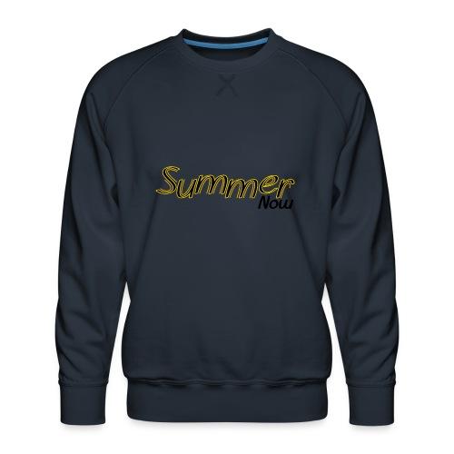 Summer now - Felpa premium da uomo