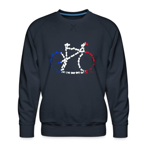 French bike chain - Men's Premium Sweatshirt