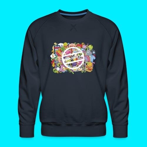 maglia logo doodle - Felpa premium da uomo