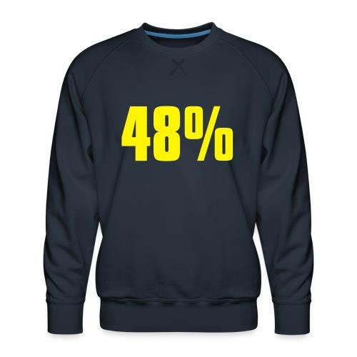 48% - Men's Premium Sweatshirt