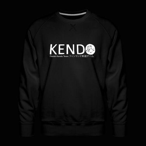 Finnish Kendo Team Text - Miesten premium-collegepaita