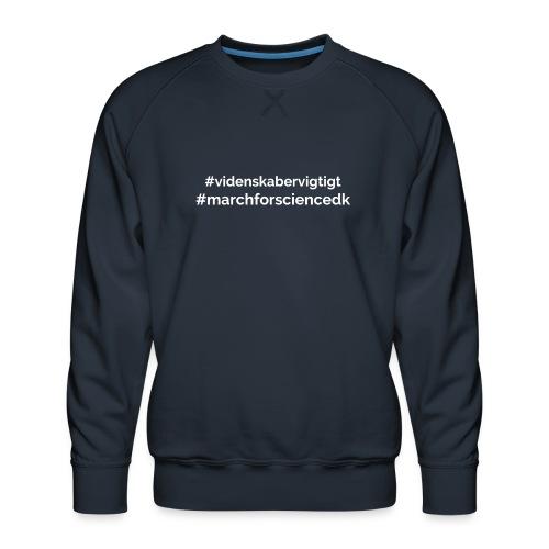 March for Science Danmark - Men's Premium Sweatshirt