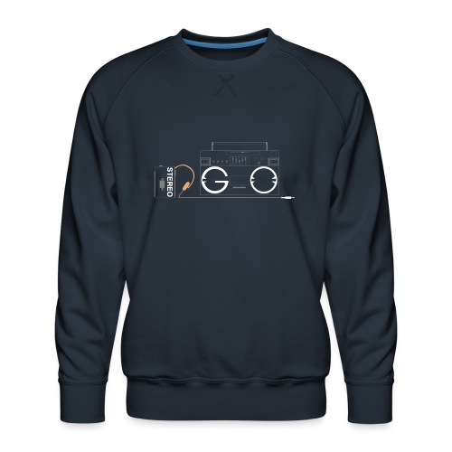 Design S2G new logo - Men's Premium Sweatshirt