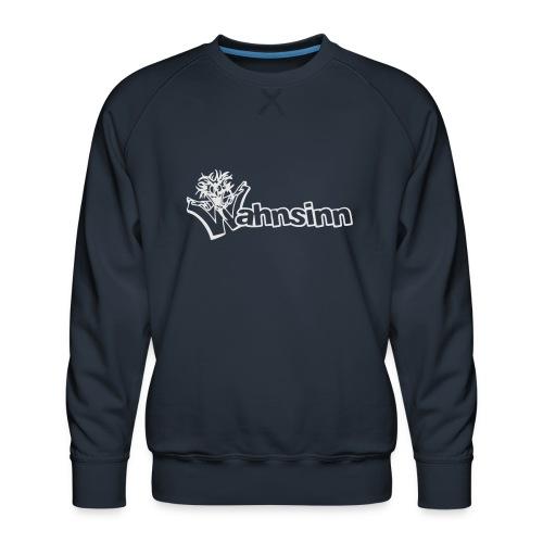 Wahnsinn Logo - Mannen premium sweater