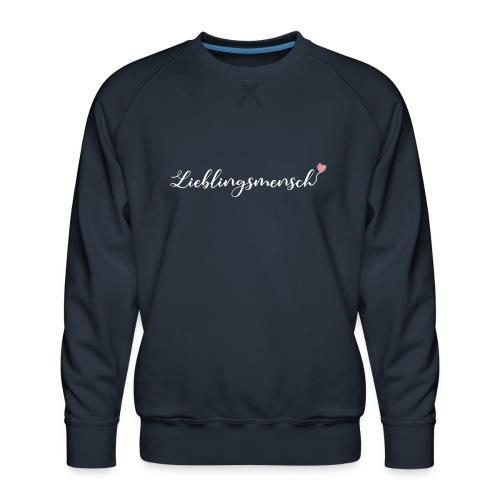 lieblingsmensch 01 - Männer Premium Pullover