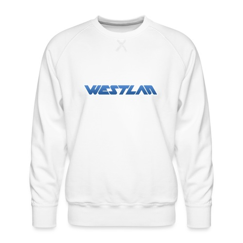WestLAN Logo - Men's Premium Sweatshirt