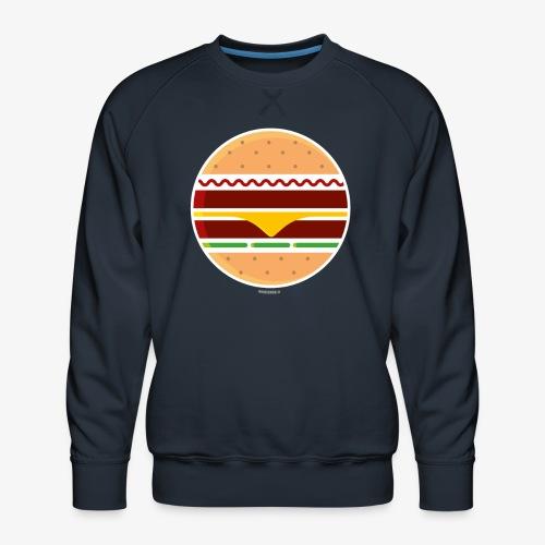 Circle Burger - Felpa premium da uomo