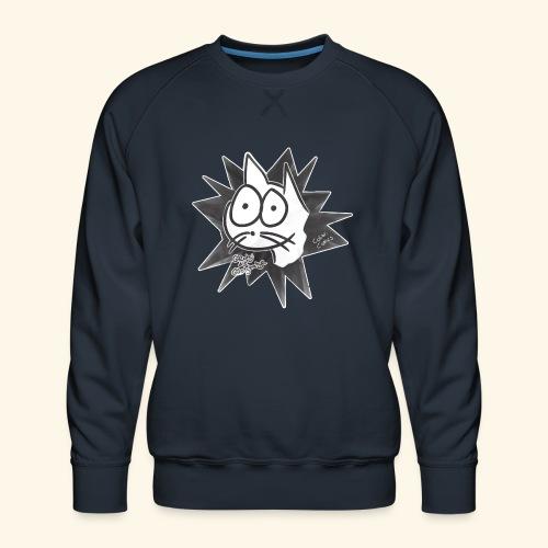 Glotzi die Glotzkatze - Männer Premium Pullover