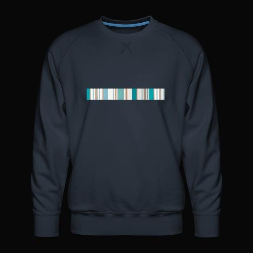 stripes - Sudadera premium para hombre