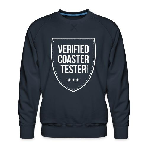 Badge CoasterTester vérifié - Sweat ras-du-cou Premium Homme