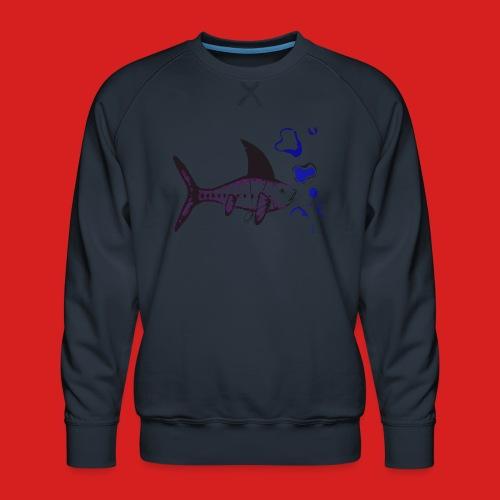 Hai-Fisch - Männer Premium Pullover