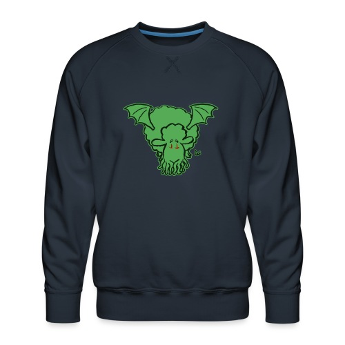 Cthulhu Sheep - Premium-genser for menn