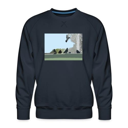 Chillin' pigeons - Mannen premium sweater